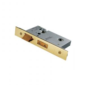 Easi-T  Bathroom Lock - 64mm - Stainless Brass