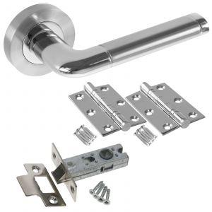 Colima Door Handle Set - LATCH DOOR PACK