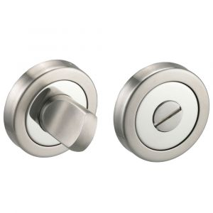 Access D Series Turn & Release - Polished Chrome / Satin Nickel
