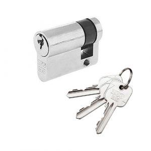 Euro Single Cylinder Lock - Polished Chrome