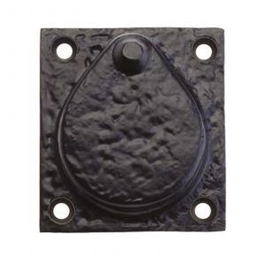 """Rim Cylinder Cover - 2.5"""" - Black"""