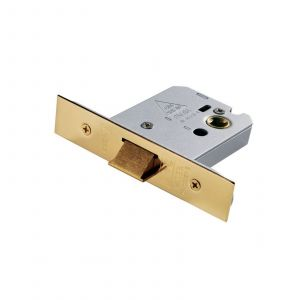 Easi-T Flat Latch - 64mm - Electroplated Brass