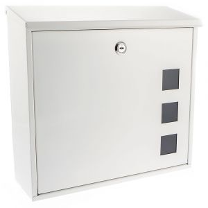 Aire G2 Top Opening Post Box - White