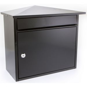 Mersey G2 Front Opening Post Box - Black