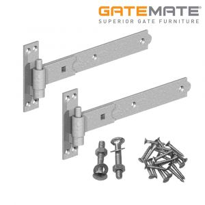 Gatemate Straight Hook And Band Hinges - Galvanised