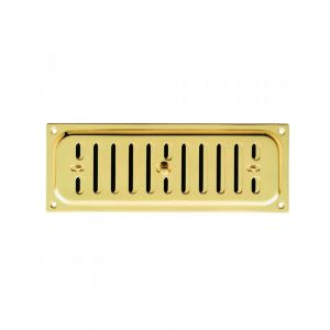 Hit & Miss Vent - Polished Brass