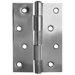 4 Inch Steel loose Pin Hinges - Zinc Plated