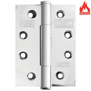 Concealed Bearing Hinge - Polished Stainless Steel