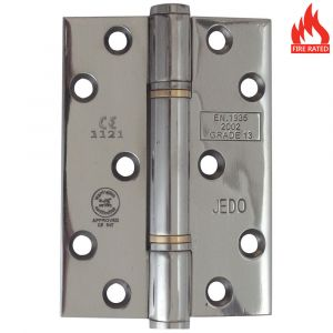 4 Inch Self Lubricating Hinge - Polished Stainless Steel