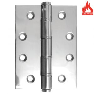 4 inch Stainless Steel Washered Hinge - Polished Stainless