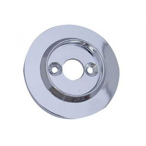 Replacement Rose for JC10 Porcelain Mortice Knobs - Polished Chrome