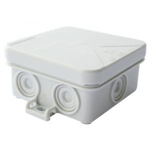 4 Terminal Junction Box - White