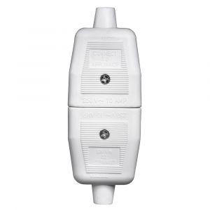 3 Pin Flex Connector - White Rubber