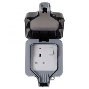 Nexus Storm Ip66 13A 1 Gang Switched Outdoor Socket