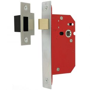 Architectural Full Case Mortice Latch 76mm - Satin Stainless Steel