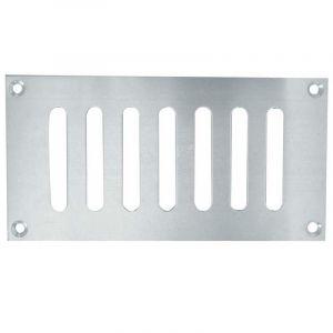 Slotted Ventilator - Satin Anodised Aluminium