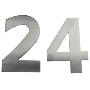 150mm Stainless Steel Pinfix Numerals