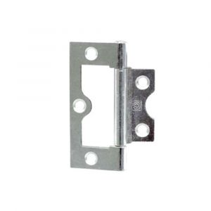 Steel Flush Hinge - Zinc Plated