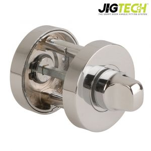 Jigtech Turn & Release Round Rose - Polished Chrome