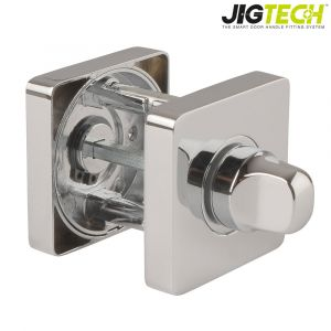Jigtech Square Turn & Release - Polished Chrome