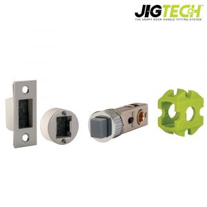 Jigtech Smart Latch - Magnetic Function - Polished Chrome