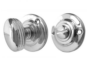 Ringed Turn and Release - Polished Chrome