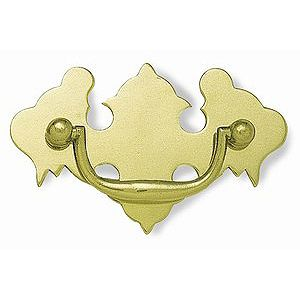 Cabinet Handle - Polished Brass
