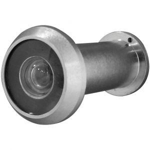 Spy Hole Viewer - Satin Chrome