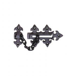 Door Chain 135mm x 85mm Black Antique