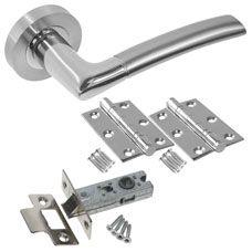 Lorenzo Door Handle Set - DOOR HANDLE PACKS