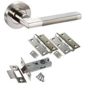 Parus Door Handle Set - LATCH DOOR PACK