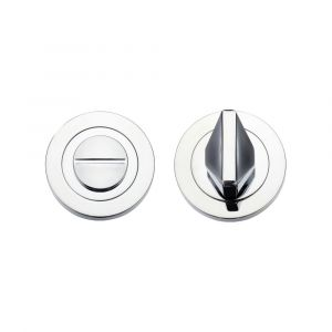 Turn & Release Round Rose - Rosso Maniglie - Polished Chrome