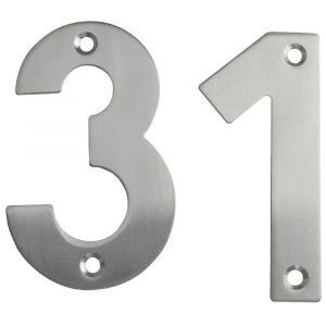 100mm Stainless Steel Screwfix Numerals