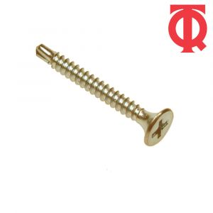 TQ Unifix Bugle Head Dry Wall Screw Self Drilling - Zinc & Yellow Passivated