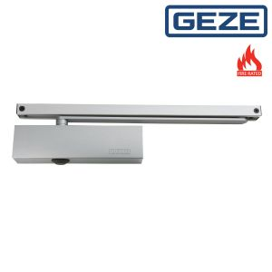 GEZE TS5000 Overhead Door Closer with Non Projecting Guide Rail Arm
