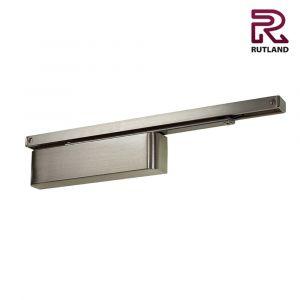 Rutland TS11204 Cam Action Door Closer - Satin Nickel