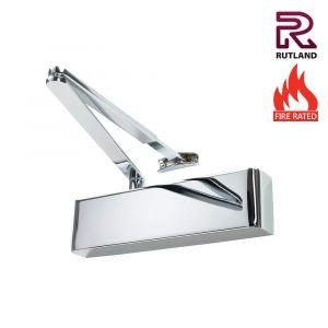 Rutland TS9205 Power Size 2-5 Door Closers - Polished Nickel