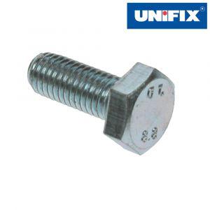 Set Screw - Half Threaded - Bright Zinc Plated