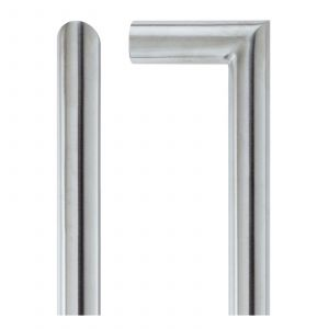 Mitred Pull Handle - Satin Stainless