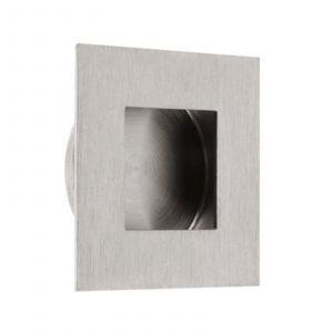 Square Flush Pull - Satin Stainless