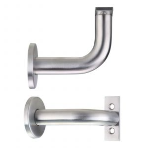Handrail Bracket - Concealed - 82mm - Satin Stainless