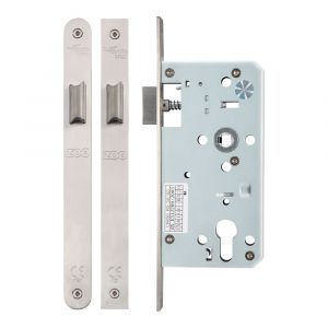 DIN Latch 55/60mm - Satin Stainless