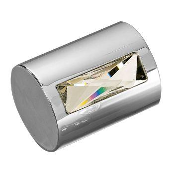 2015 Cylindrical Mortice Knob - Polished Chrome