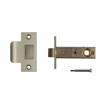 Mortice Privacy Latch - Satin Stainless Steel