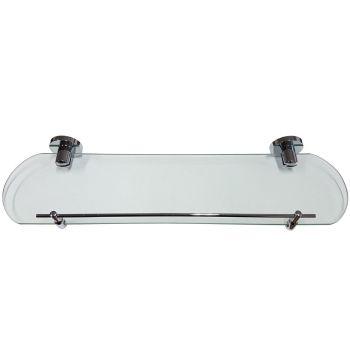Glass Shelf with Chrome Plated Brackets