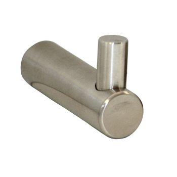 Single Robe Hook - Satin Stainless Steel