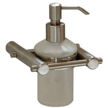 Liquid Soap Dispenser Satin Stainless Steel