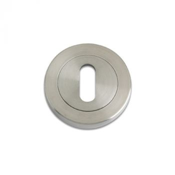 Zoo Stainless Steel Standard Profile Keyhole Cover - Stainless Steel