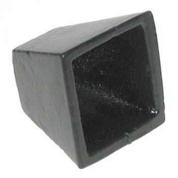 482 Ground Socket for Bolts 16mm / 5/8inch - Epoxy Black