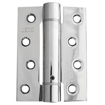 Single Action Fire Door Hinge - Polished Chrome